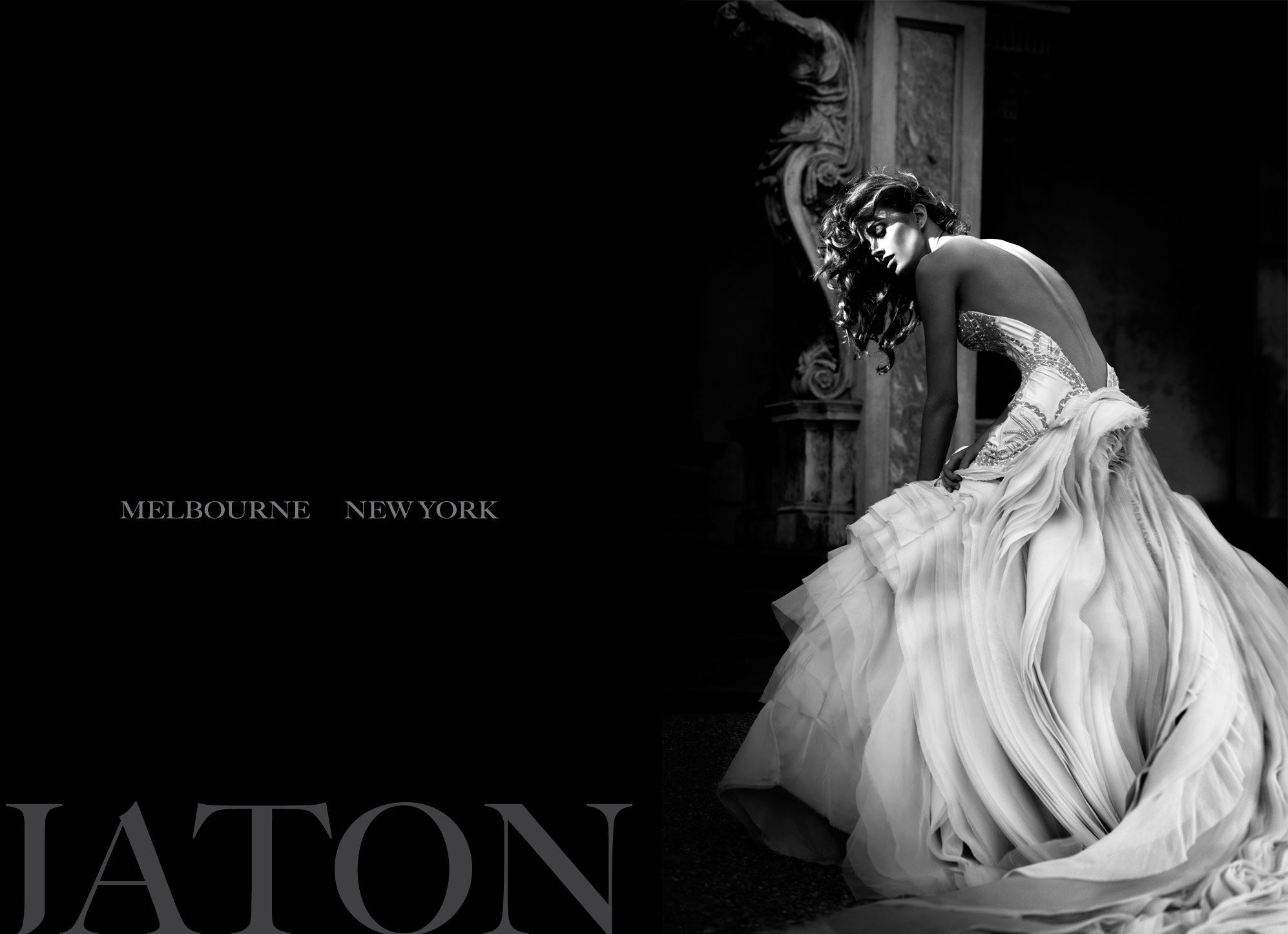 J 39 aton couture for J aton wedding dress